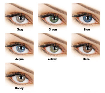 adore bi-tone colored contact lenses