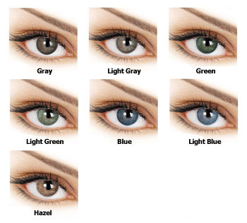 adore tri-tone colored contact lenses