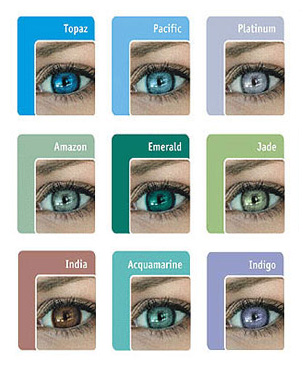 bausch and lomb contact lenses colors - Color Contacts Amazon