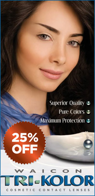 Waicon Trikolor Color Contact Lenses
